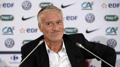 Didier Deschamps: Handed an opportunity for several fringe players to impress