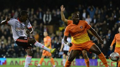 Hugo Rodallega: Nets Fulham's second goal against Charlton