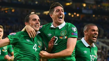 Stephen Ward: a doubt for Sunday's clash with Ireland