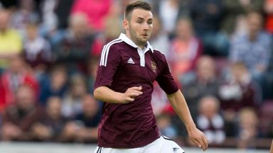 James Keatings: Fourth game in as many games for Hearts