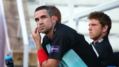 Kevin Pietersen: Left Surrey in October last year