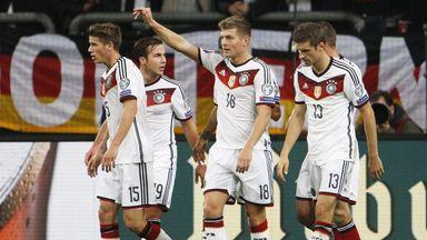 Toni Kroos: Celebrates his goal