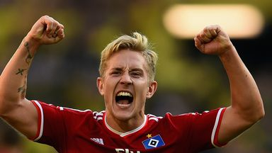 Lewis Holtby: Midfielder was on loan at Hamburg last season