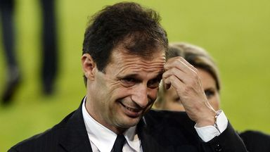 Massimiliano Allegri: Thought Juve were unlucky at Genoa