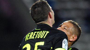 Jordan Veretout: Congratulated on his goal for Nantes