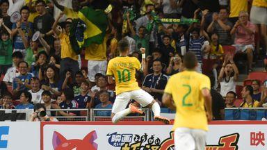 Neymar: Scored all four goals