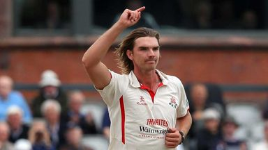 Oliver Newby: Lancashire let all-rounder leave Old Trafford after 12 years