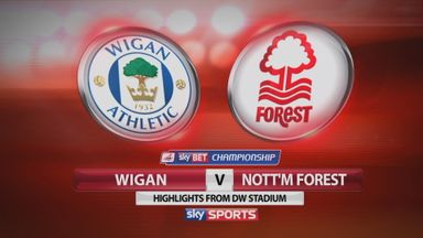 Wigan 0-0 Nottingham Forest