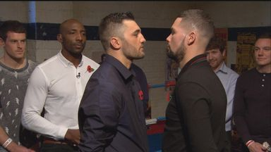 Cleverly and Bellew square off once again...