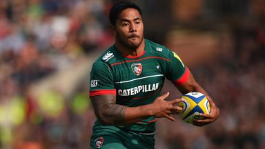 Manu Tuilagi: Hobbled off after just 15 minutes as Leicester Tigers beat Ulster in the Champions Cup