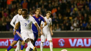 Saido Berahino: Striker scores his late winner for England Under-21s at Molineux