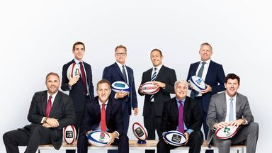Sky Sports Rugby Union team 2014
