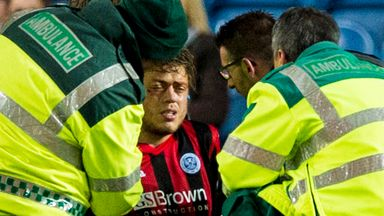 Murray Davidson: St Johnstone midfielder will miss the game against Motherwell with a concussion