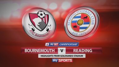 Bournemouth 3-0 Reading