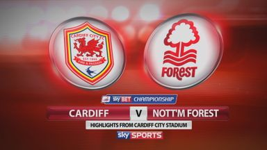 Cardiff 2-1 Nott'm Forest