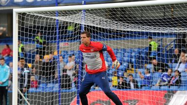 Wojciech Szczesny has not started a league game since January 1