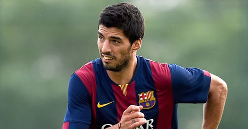 Luis Suarez: The Barcelona star set to feature in El Clasico.