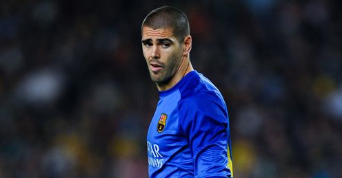 Victor Valdes: Training with Man United
