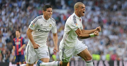 Pepe: Powered Real Madrid in front early in the second half