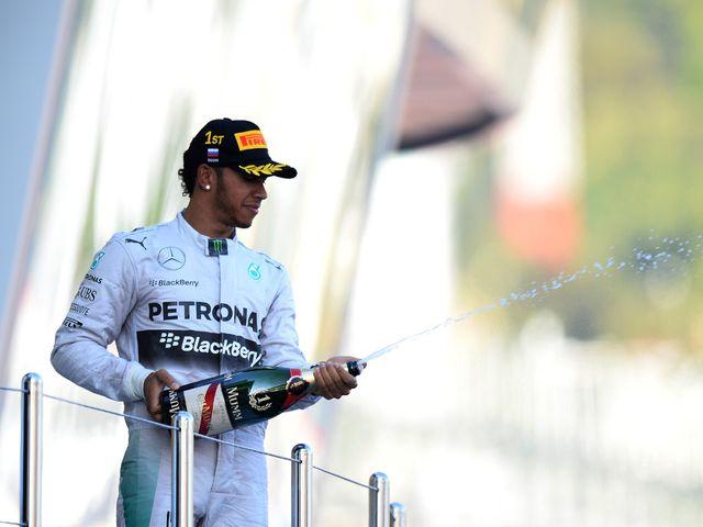 Lewis Hamilton: Won in Russia