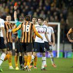 Gaston Ramirez: Shown a red card by referee Craig Pawson