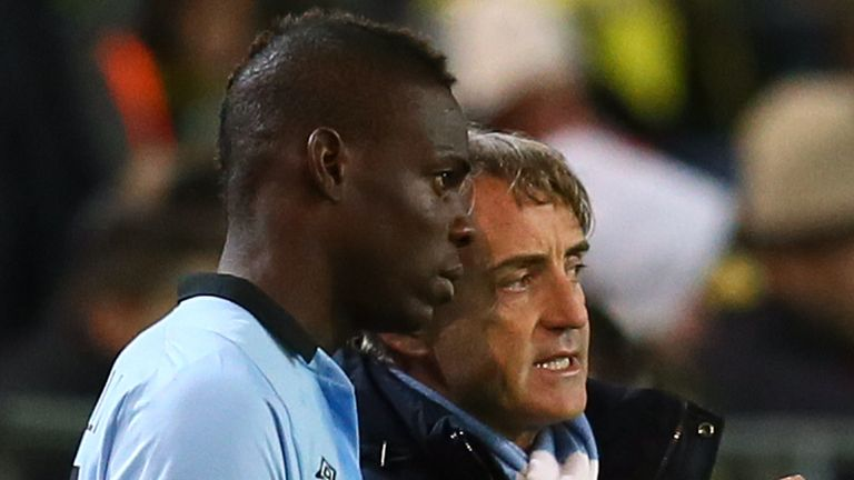 Roberto Mancini brought Mario Balotelli to Manchester City