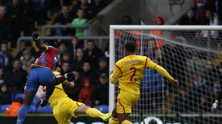 Yannick Bolasie could be in action for Palace on Sunday