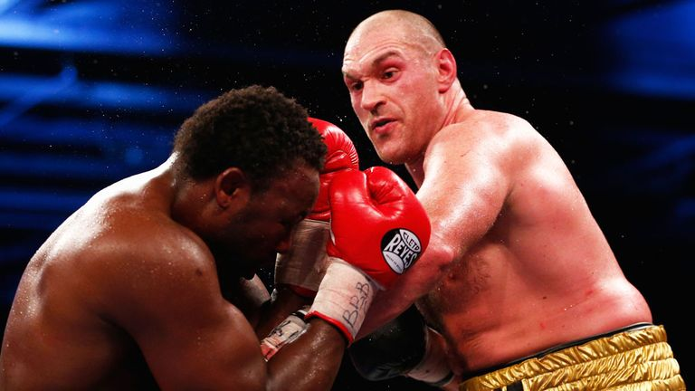 tyson fury latest fight video
