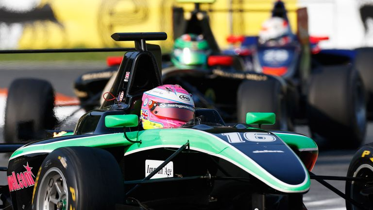 Alice Powell: Only female to score points in GP3