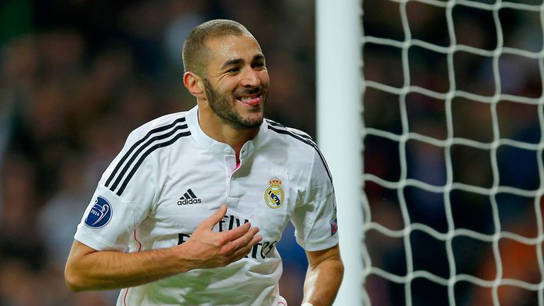 Karim Benzema: Out of second leg clash at Bernabeu