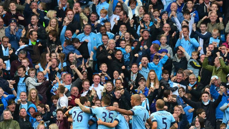 A Manchester City supporters group is considering a walkout to protest the club's decision to raise prices in the Champions League
