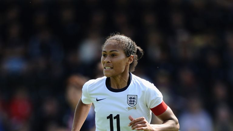 Rachel Yankey has made 129 international appearances