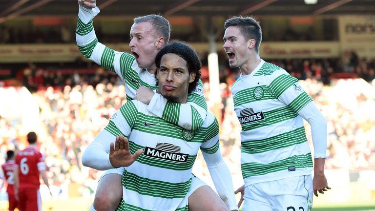 Virgil van Dijk: Grabbed the Celtic winner against Aberdeen