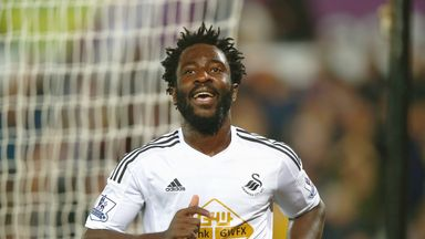 Wilfried Bony: Nearly moved to West Ham instead on Swansea