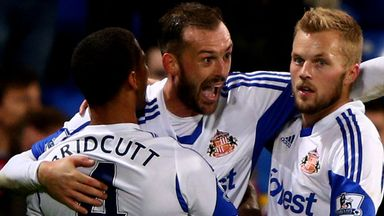 Steven Fletcher will be hoping to celebrate when Newcastle visit Stadium of Light