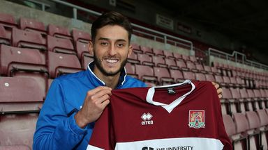 Ollie Banks: Heads to Sixfields Stadium