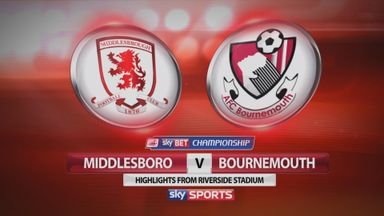 Middlesbrough 0-0 Bournemouth