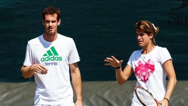 Amelie Mauresmo joining up with the Scot after his depature with Ivan Lendl