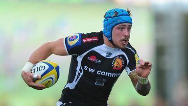 Jack Nowell: Two tries for Exeter Chiefs as they go top