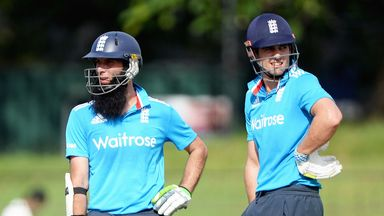 Moeen Ali opened the innings with Alastair Cook against Sri Lanka A on Friday