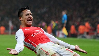 The Chile international is proving to be a great signing for the Gunners