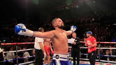 Tony Bellew: Says he is ready to take on WBO champion Marco Huck