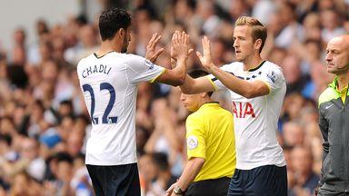 Nacer Chadli: Tottenham midfielder backs Harry Kane (r)  for England call