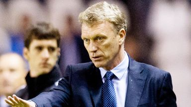 David Moyes watched his Real Sociedad side earn a draw