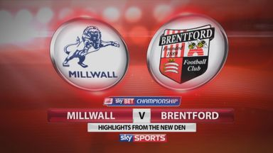 MIllwall 2-3 Brentford