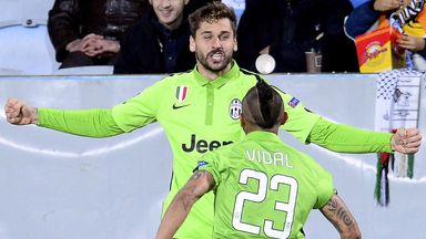 Fernando Llorente: Celebrates after scoring for Juventus