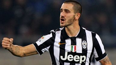 Leonardo Bonucci of Juventus celebrates