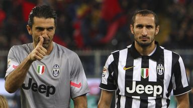 Gianluigi Buffon and Giorgio Chiellini: Extended deals with Juventus