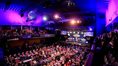 grand slam of darts tables