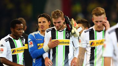 Borussia Monchengladbach were held to a goalless draw